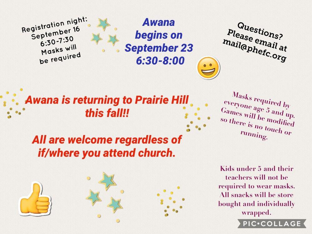 Awana Registration Night